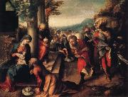 Correggio Adoration of the Magi oil painting reproduction