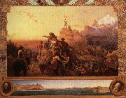 Emanuel Leutze Wastward the Course of the Empire Takes Its Way oil painting picture wholesale