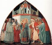 The Prato Master,St Stephen Preaching to the Pharisees