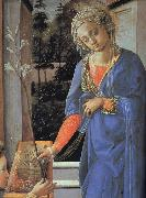 Details of The Annunciation
