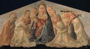 Madonna of Humility with Angels and Carmelite Saints