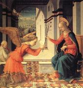 The Annunciation with Donor