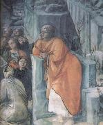 Fra Filippo Lippi Details of The Mission of St John the Bapitst oil painting reproduction