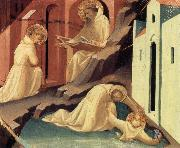 The Rescue of St Placidus and St Benedict's Visit to St Scholastica