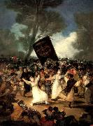 Francisco Goya The Burial of the Sardine oil painting picture wholesale