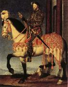 Portrait of Francis I on Horseback
