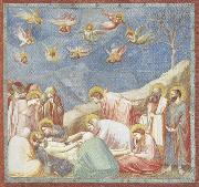 GIOTTO di Bondone Lamentation over the Dead Christ oil painting reproduction