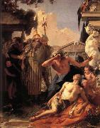Giambattista Tiepolo The Death of Hyacinthus oil painting reproduction
