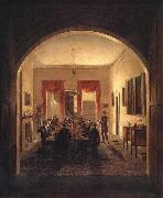 Henry Sargent The Dinner Party oil painting artist
