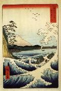 Hiroshige, Ando Fuji from the Gulf of Suruga oil painting
