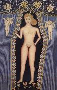 Hirshfield Morris Nude with Cupids oil painting