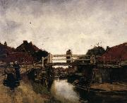 Jacobus Hendrikus Maris The Bridge oil painting