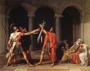 Jacques-Louis David THe Oath of the Horatii oil painting picture wholesale