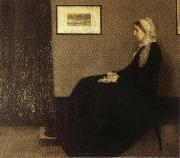 Arrangement in Gray and Black: Portrait of the Artist's Mother