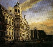 The City Hall in Amsterdam