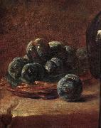 Details of Still life with plums