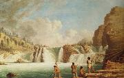 Kane Paul Falls at Colville oil painting