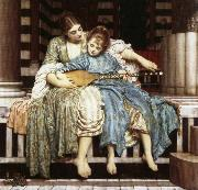 Lord Frederic Leighton The Muisc Lesson