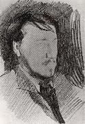 Portrait of Valentin Serov