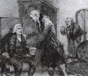 Mozart and Salieri Listening to a Blind Violinist