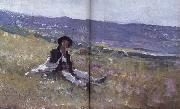 Nicolae Grigorescu Young Shepherd oil painting picture wholesale