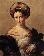 PARMIGIANINO Portrait of a Young Woman oil painting reproduction
