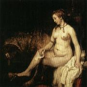 Bathsheba with David's Letter