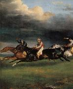 Theodore Gericault Details of Epsom Derby oil painting reproduction