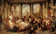 Thomas Couture The Romans of the Decadence oil painting picture wholesale