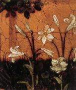 Upper Rhenish Master Details of The Little Garden of Paradise oil painting reproduction