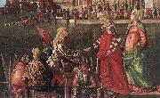 Meeting of the Betrothed Couple (detail)