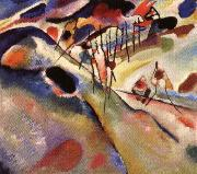 Wassily Kandinsky Landscape oil painting reproduction