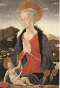 Alessio Baldovinetti The Virgin and Child (mk05) oil painting