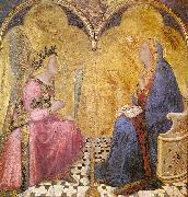 Ambrogio Lorenzetti Annunciation oil painting reproduction