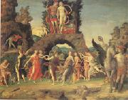 Andrea Mantegna Mars and Venus Known as Parnassus (mk05) oil painting picture wholesale