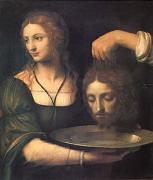 Bernadino Luini Salome Receiving the Head of John the Baptist (mk05) oil painting