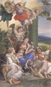 Correggio Allegory of the Virtues (mk05) oil painting picture wholesale