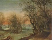 Denys Van Alsloot Winter Landscape (mk05) oil painting picture wholesale
