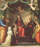 Fra Bartolommeo The Mystic Marriage of st Catherine of Siena,with Eight Saints (mk05) oil painting picture wholesale