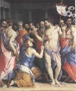 Francesco Salviati The Incredulity of Thomas (mk05) oil painting