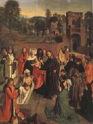 Geertgen Tot Sint Jans The Raising of Lazarus (mk05) oil painting