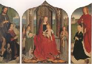 Gerard David The Virgin and child between angel musicians (mk05) oil painting picture wholesale
