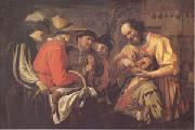 Gerrit van Honthorst The Tooth Puller (mk05) oil painting picture wholesale