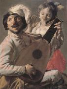 Hendrick Terbrugghen The Duet (mk05)