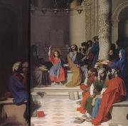 Jesus among the Scribes (mk04)