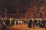 Charles X Bestwing Honors on the Artists of the Salon of 1824,1827 (mk04)