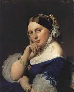 Jean Auguste Dominique Ingres Portrait of Delphine Ingres,nee Ramel (mk04) oil painting on canvas