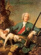 Jean Marc Nattier Peter I oil painting reproduction