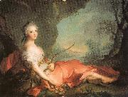 Jean Marc Nattier Marie-Adlaide of France as Diana oil painting on canvas