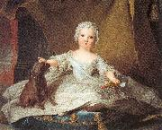 Jean Marc Nattier Marie Zephyrine of France as a Baby oil painting picture wholesale